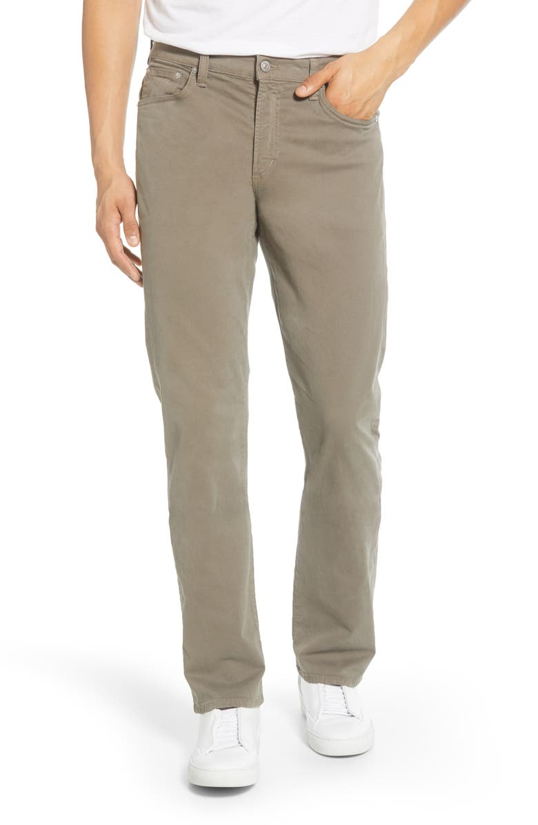 CITIZENS OF HUMANITY Gage Slim Straight Leg Jeans, Main, color, LEAD