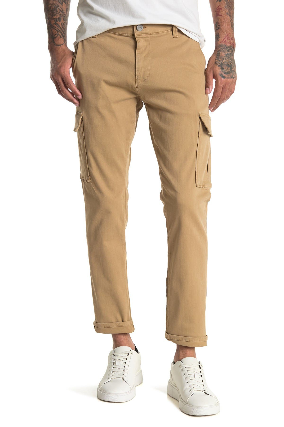 Image of 34 Heritage 34 Carson Golden Twill Cargo Pants
