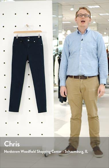 Tonal Leopard Print Skinny Jeans, sales video thumbnail