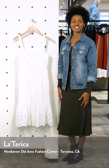 Ancolie Sleeveless Broderie Sundress, sales video thumbnail