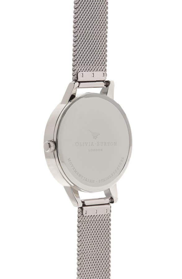 Olivia Burton Parlour Mesh Strap Watch, 30mm | Nordstrom