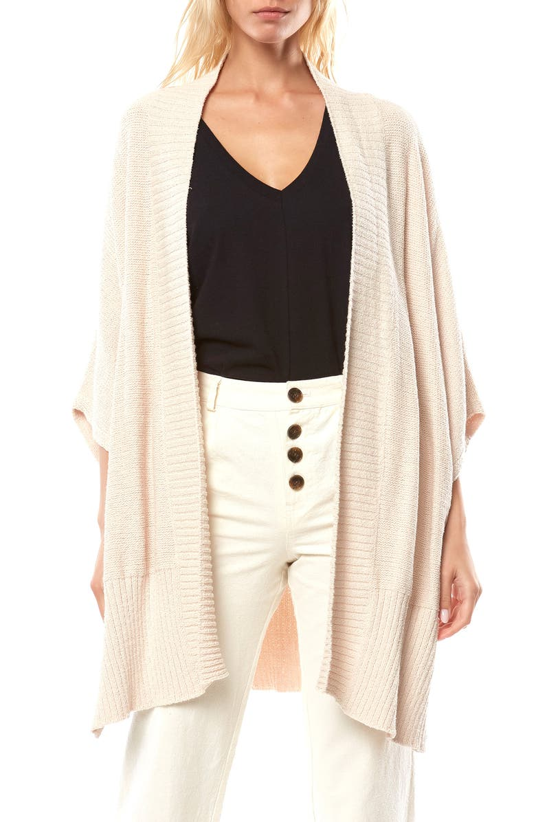 O'NEILL Crescent Bay Cotton Blend Cardigan, Main, color, OATMEAL HEATHER