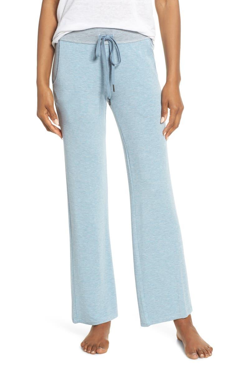 FELINA Camilla Lounge Pants, Main, color, CBH COOL BLUE