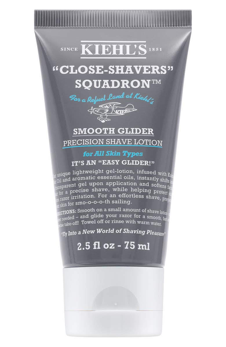 KIEHL'S SINCE 1851 Smooth Glider Precision Shave Lotion, Main, color, NO COLOR