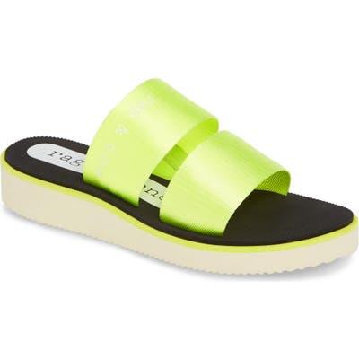 Rag & Bone Mila Slide Sandal, Green