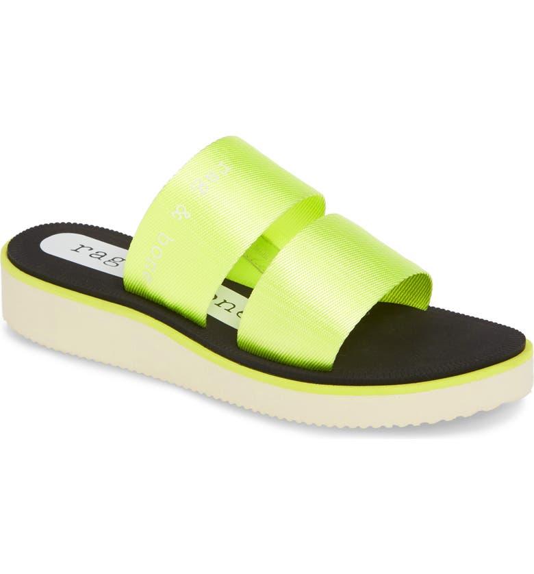 RAG & BONE Mila Slide Sandal, Main, color, 320