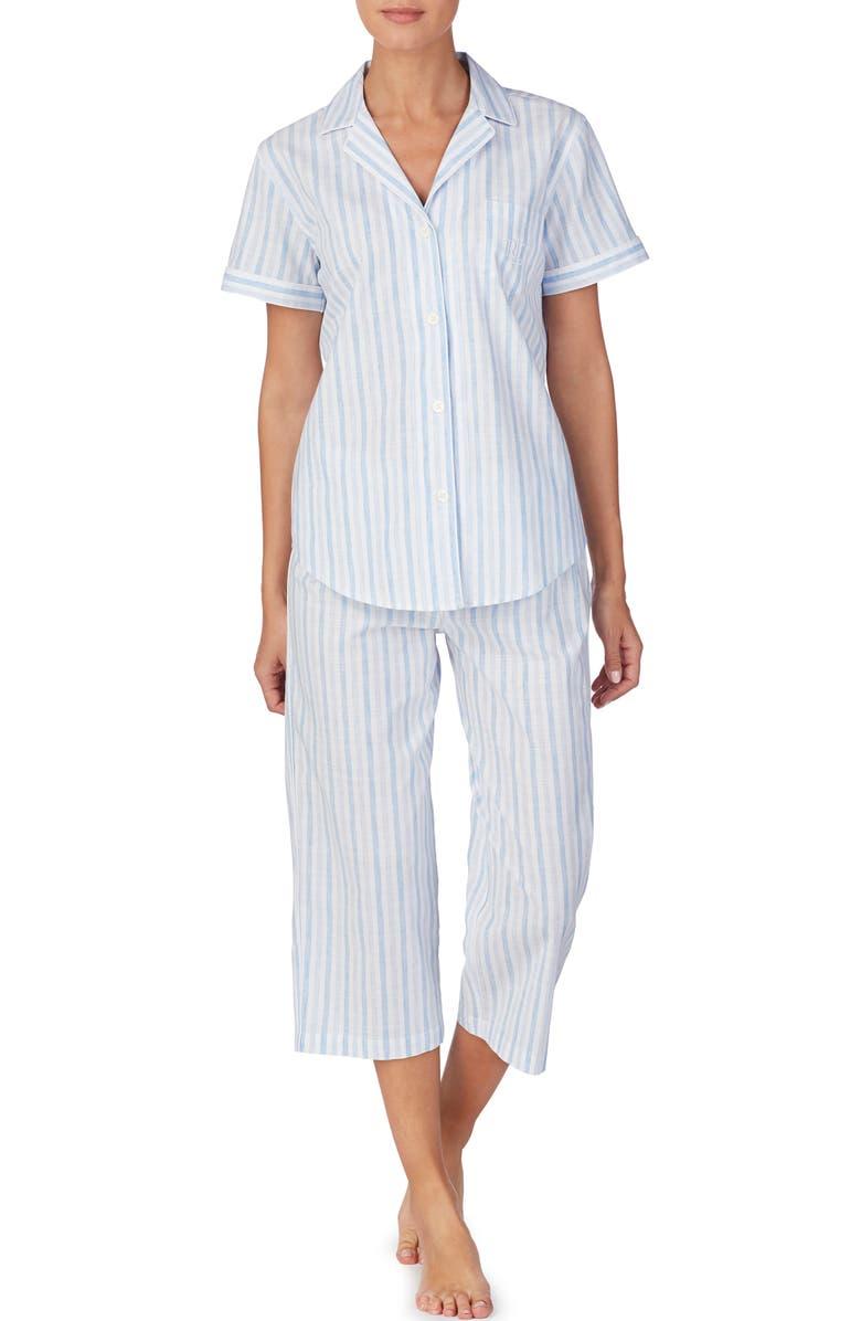 LAUREN RALPH LAUREN Capri Pajamas, Main, color, 400