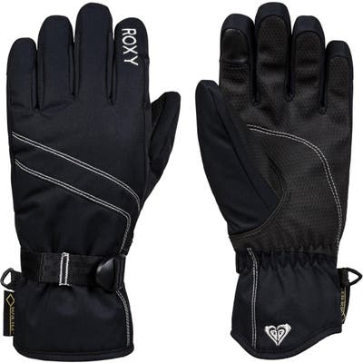 Roxy Fizz Gore-Tex Gloves, Black