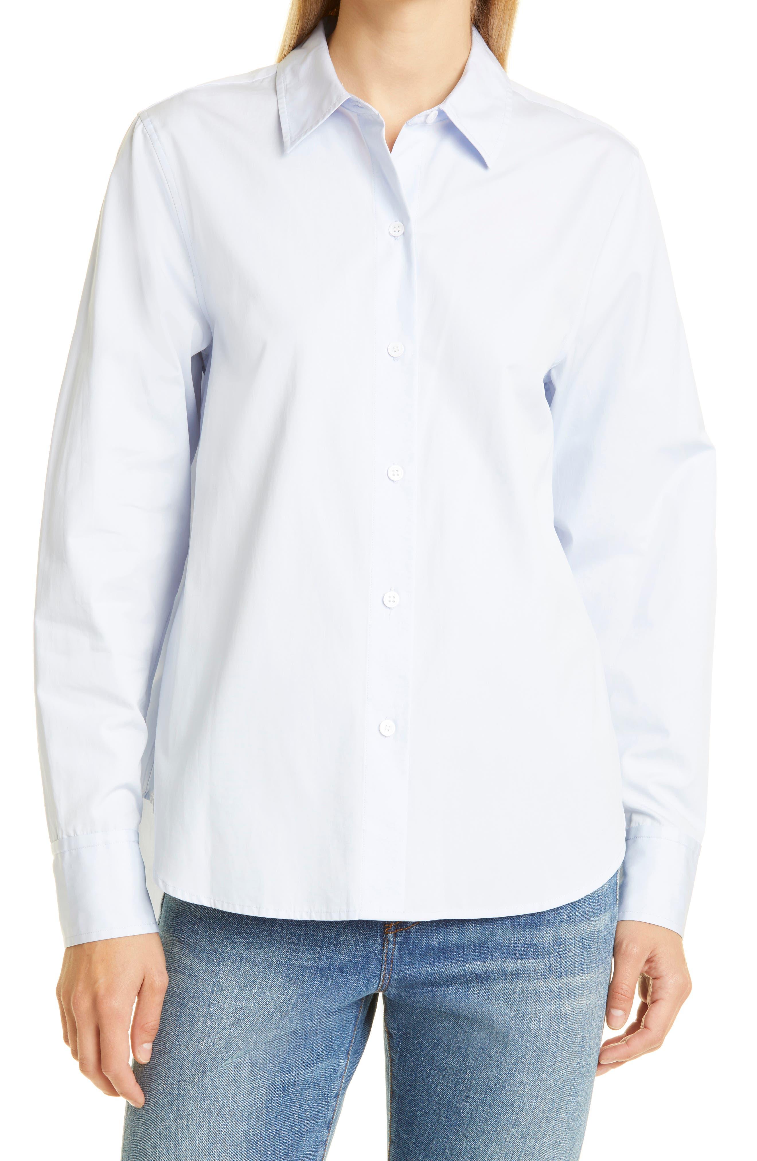 Classic Cotton Button-Up Shirt