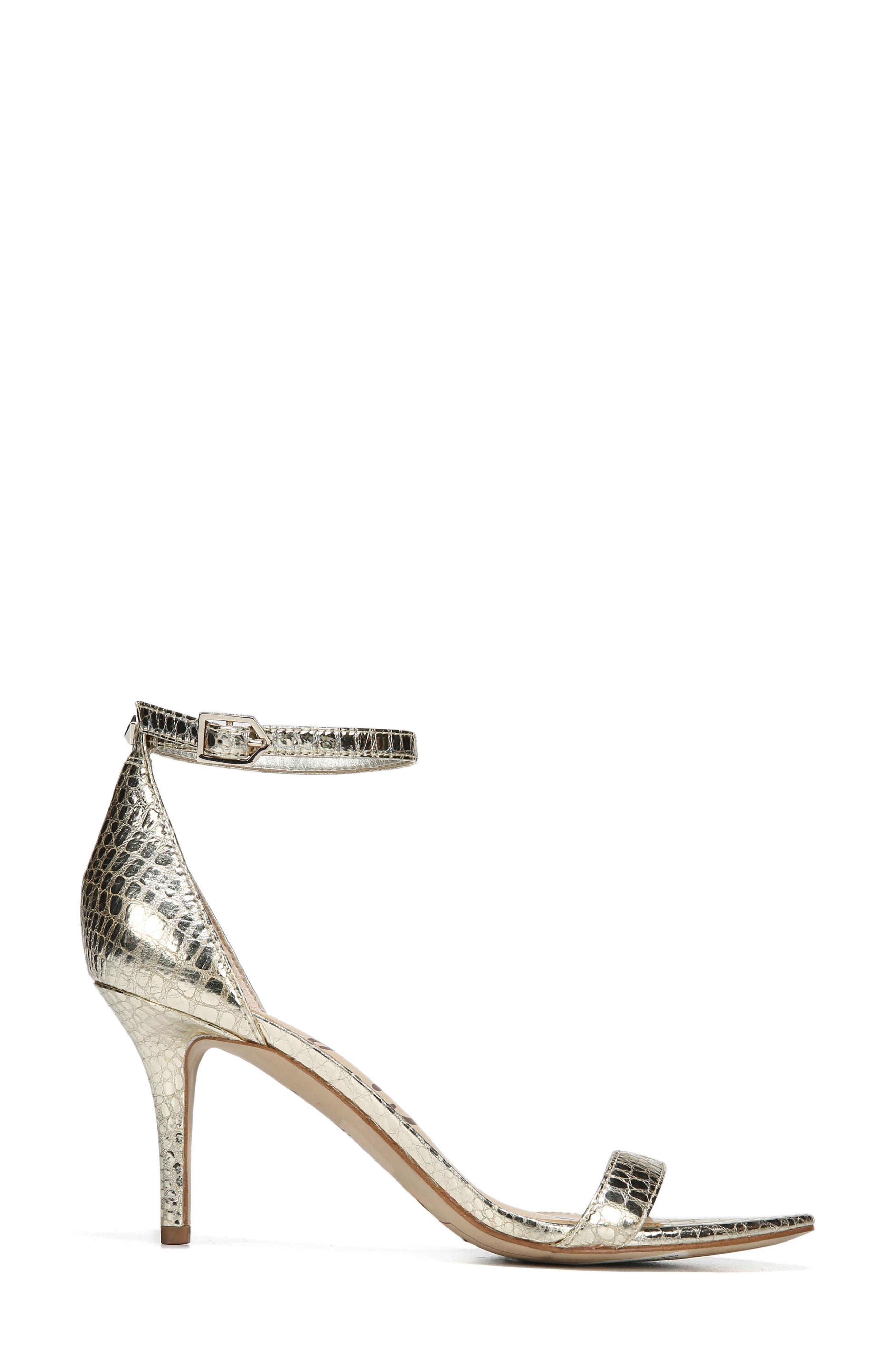 ,                             'Patti' Ankle Strap Sandal,                             Alternate thumbnail 136, color,                             909