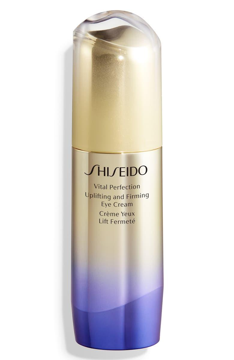 SHISEIDO Vital Perfection Uplifting and Firming Eye Cream, Main, color, NO COLOR