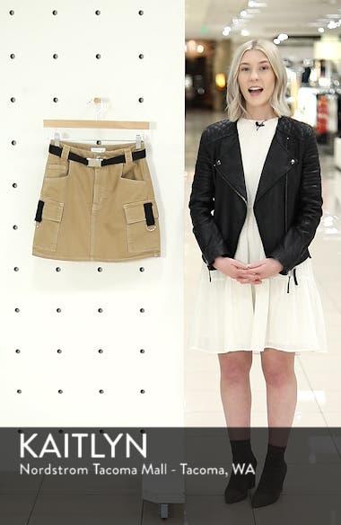 Clip Buckle Denim Skirt, sales video thumbnail