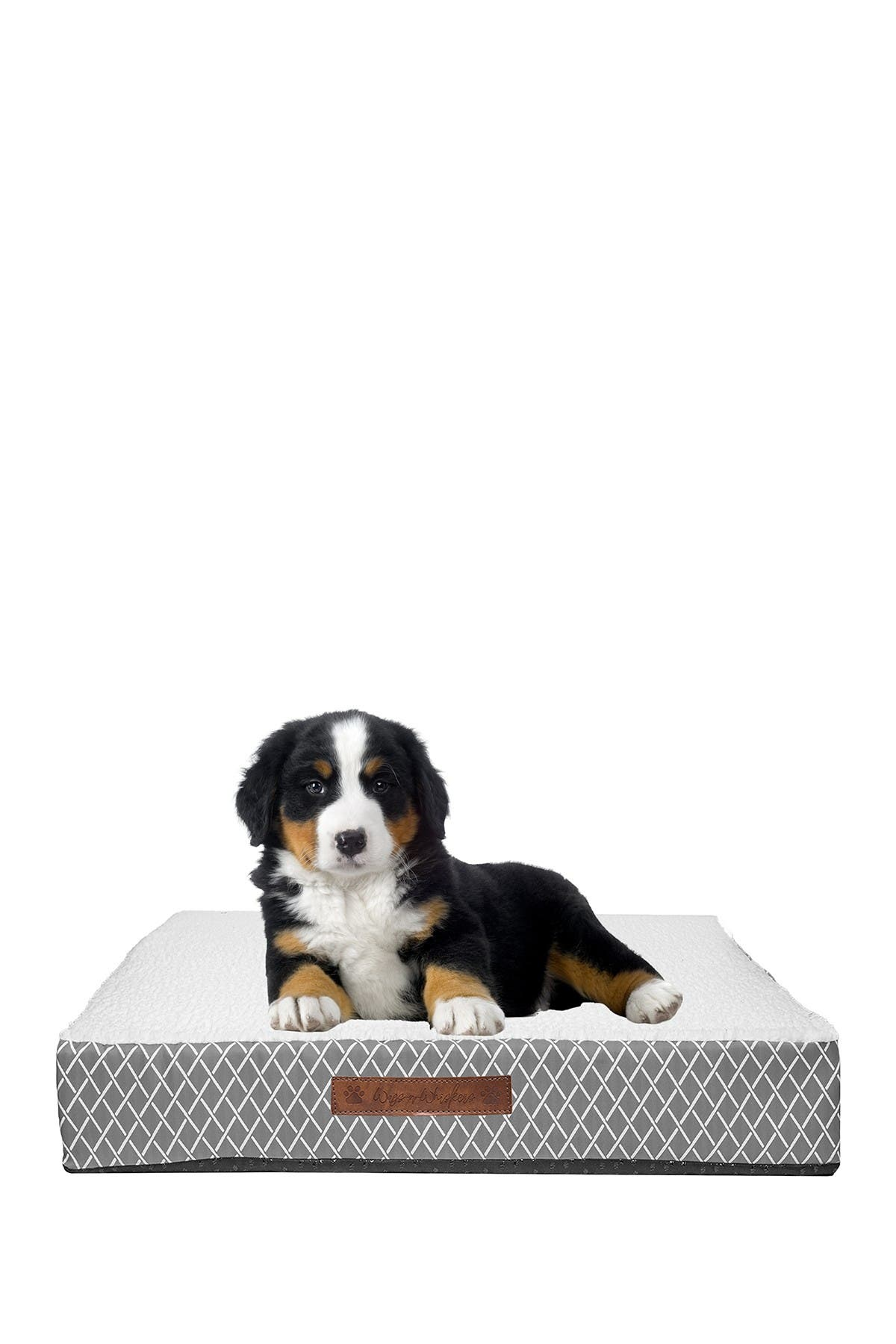 Image of Duck River Textile Atkins Lattice Small Orthopedic Memory Foam Pet Bed