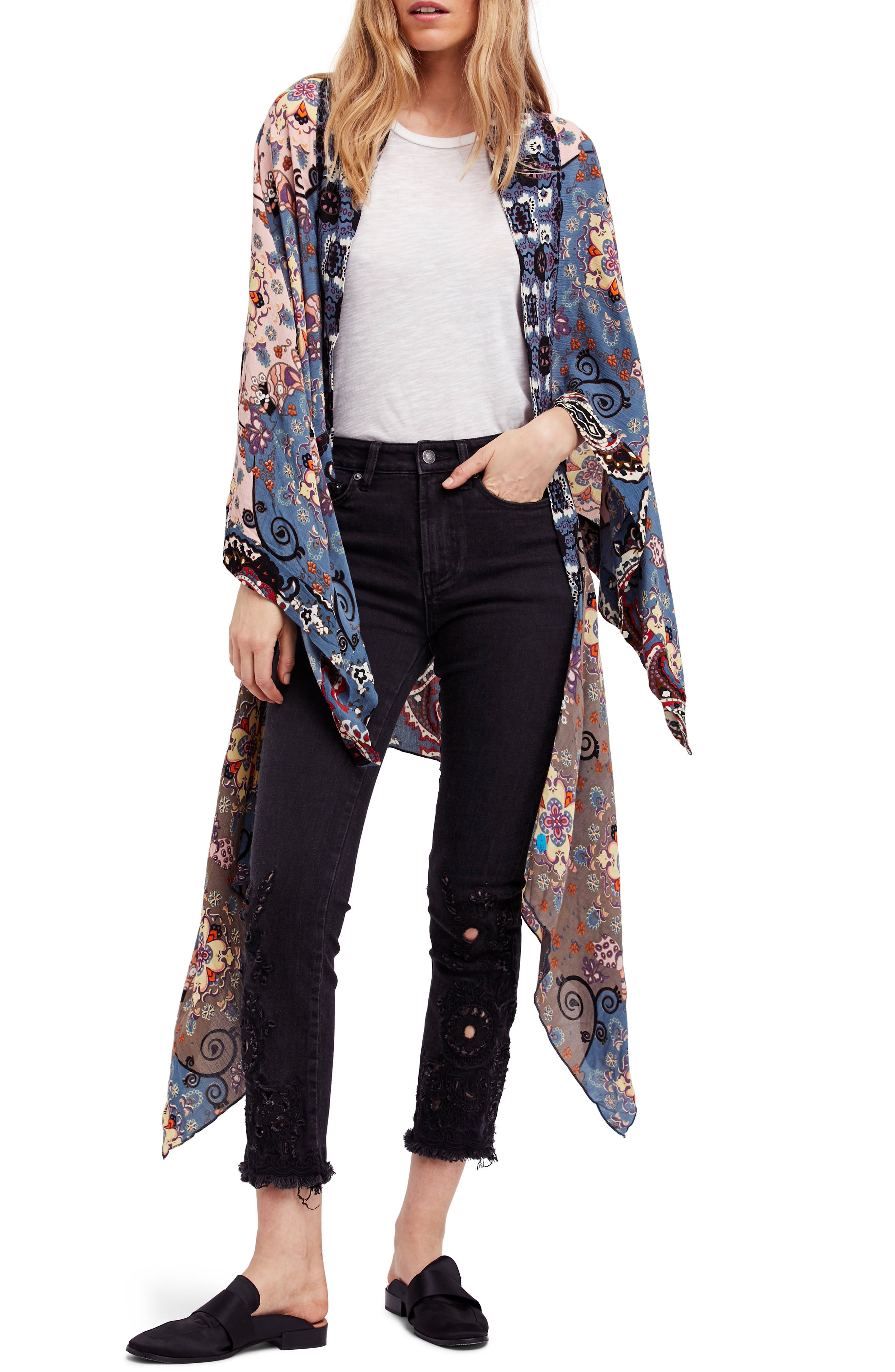 Vintage Coats & Jackets   Retro Coats and Jackets Womens Free People Little Wing Duster $40.80 AT vintagedancer.com