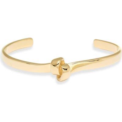 Knotty Flat Knot Cuff Bracelet