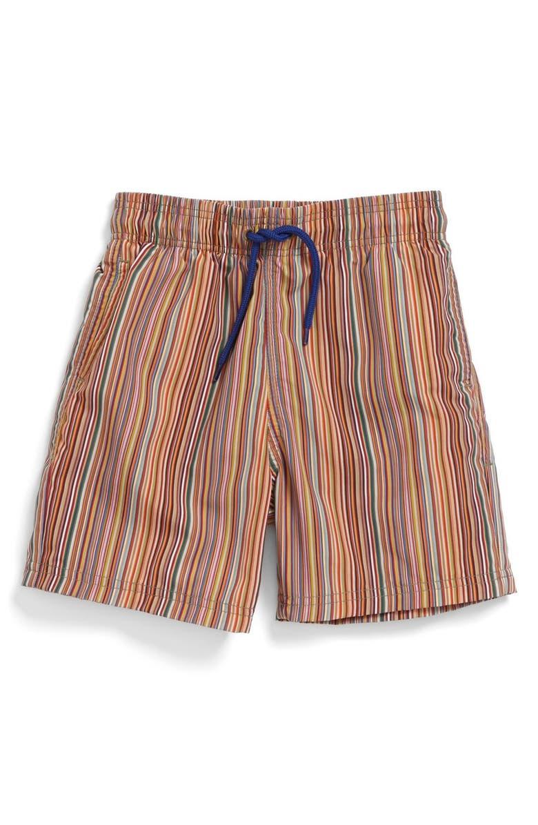 aeb19df1cd Paul Smith Junior Stripe Swim Trunks (Toddler Boys, Little Boys ...