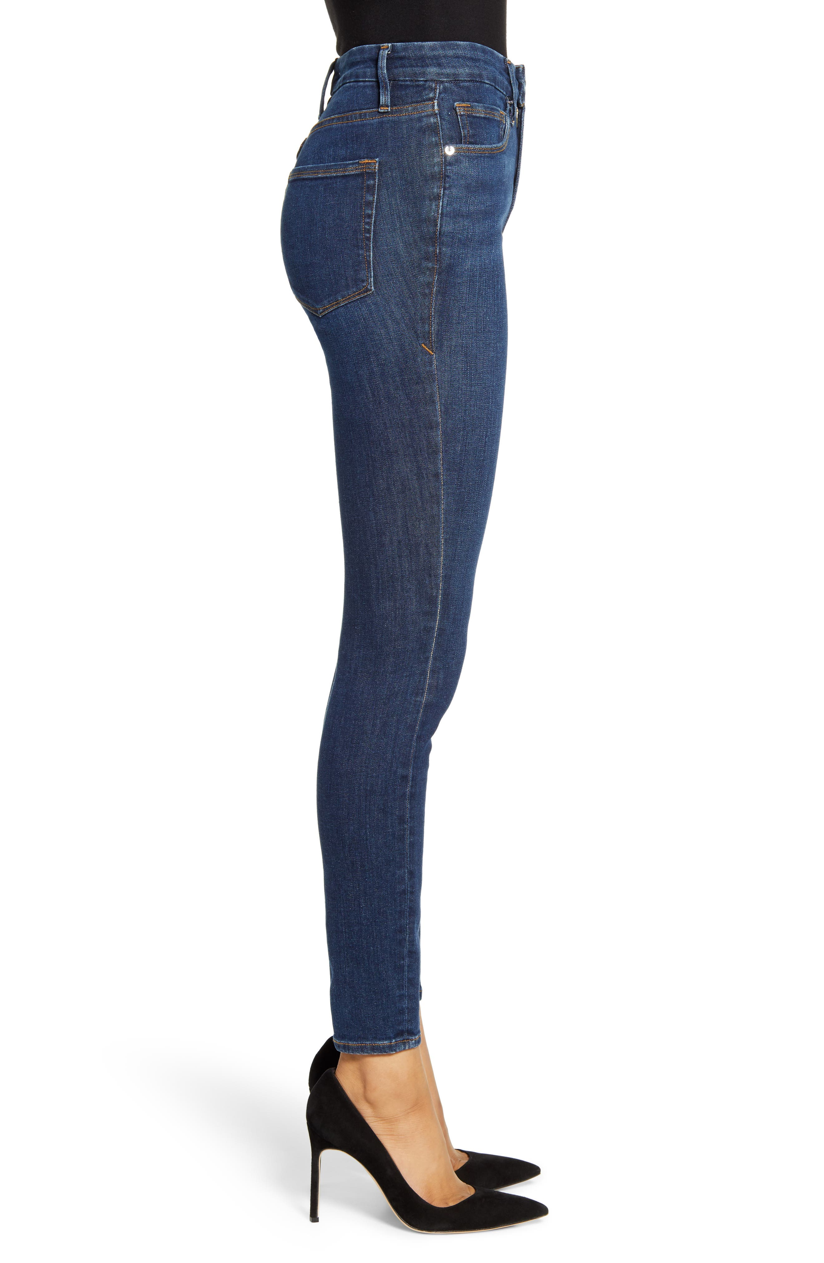 ,                             Good Legs High Waist Skinny Jeans,                             Alternate thumbnail 63, color,                             409