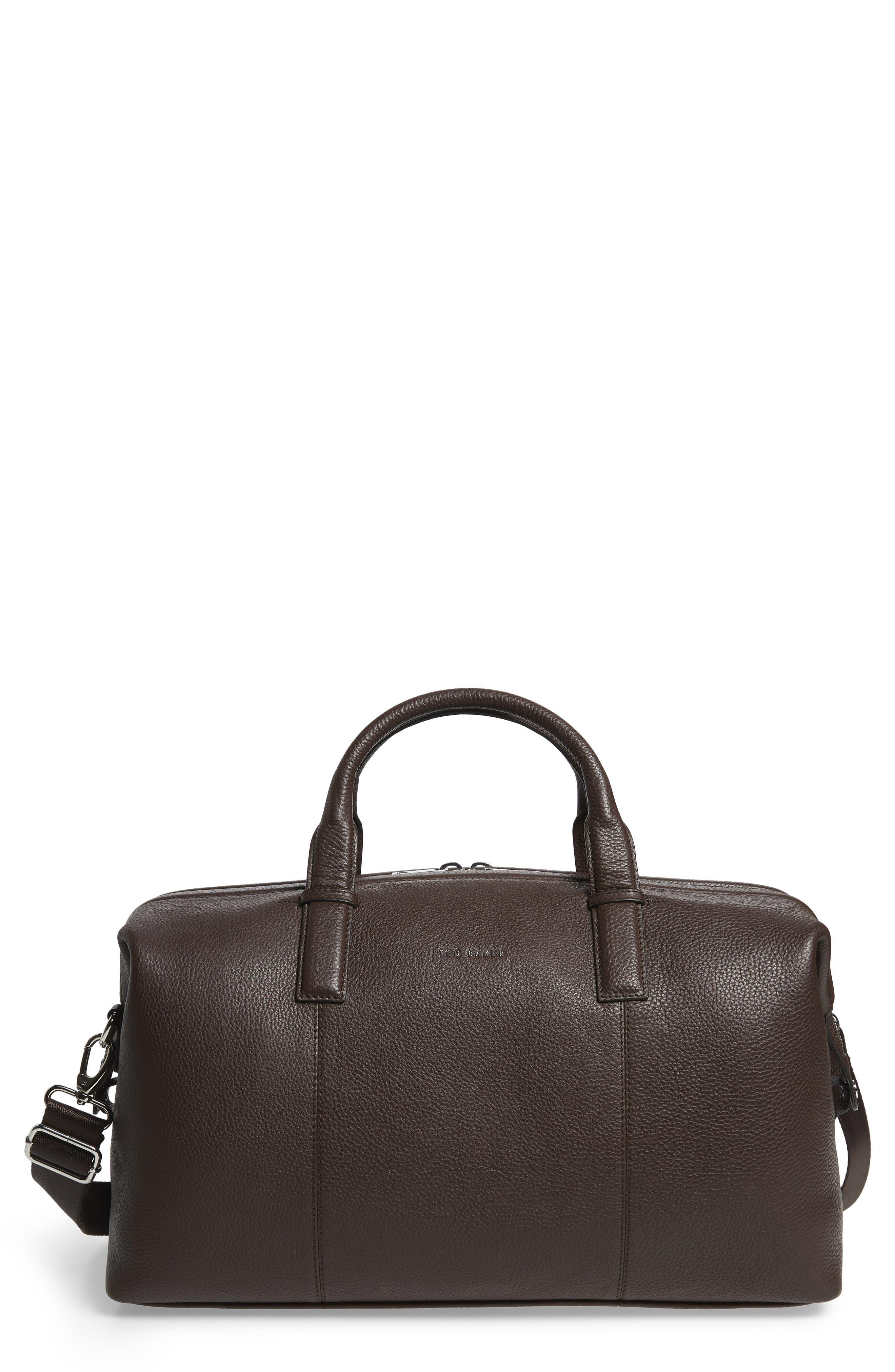 Bagtron Leather Duffle Bag