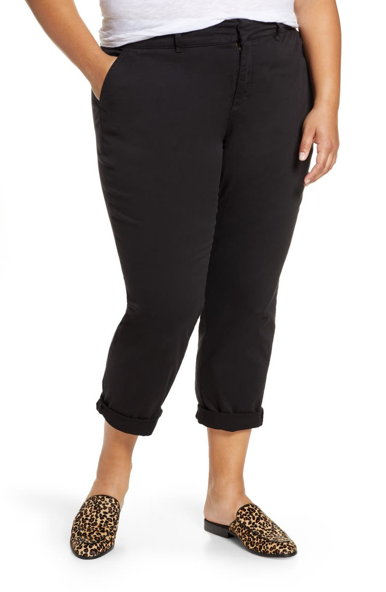 CASLON<SUP>®</SUP> Chino Pants, Main, color, 001
