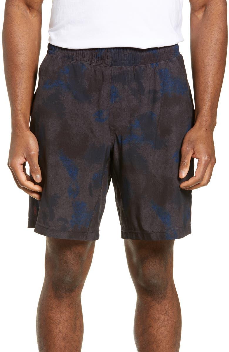 RHONE Mako Athletic Shorts, Main, color, CAMO