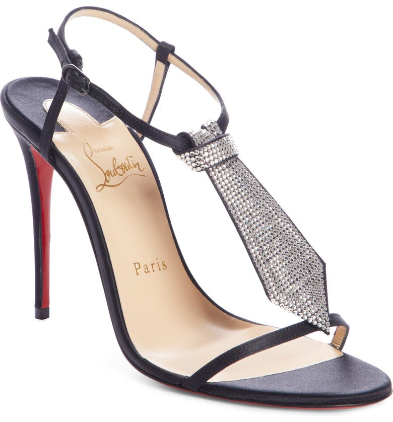 the best attitude 58f6f 66213 Christian Louboutin T Cab Tie Embellished Sandal (Women ...