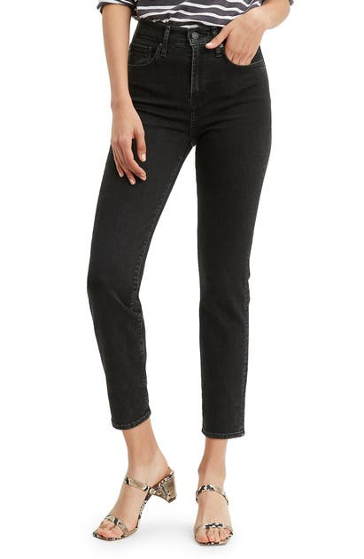 Levi's 724(TM) HIGH WAIST CROP STRAIGHT LEG JEANS