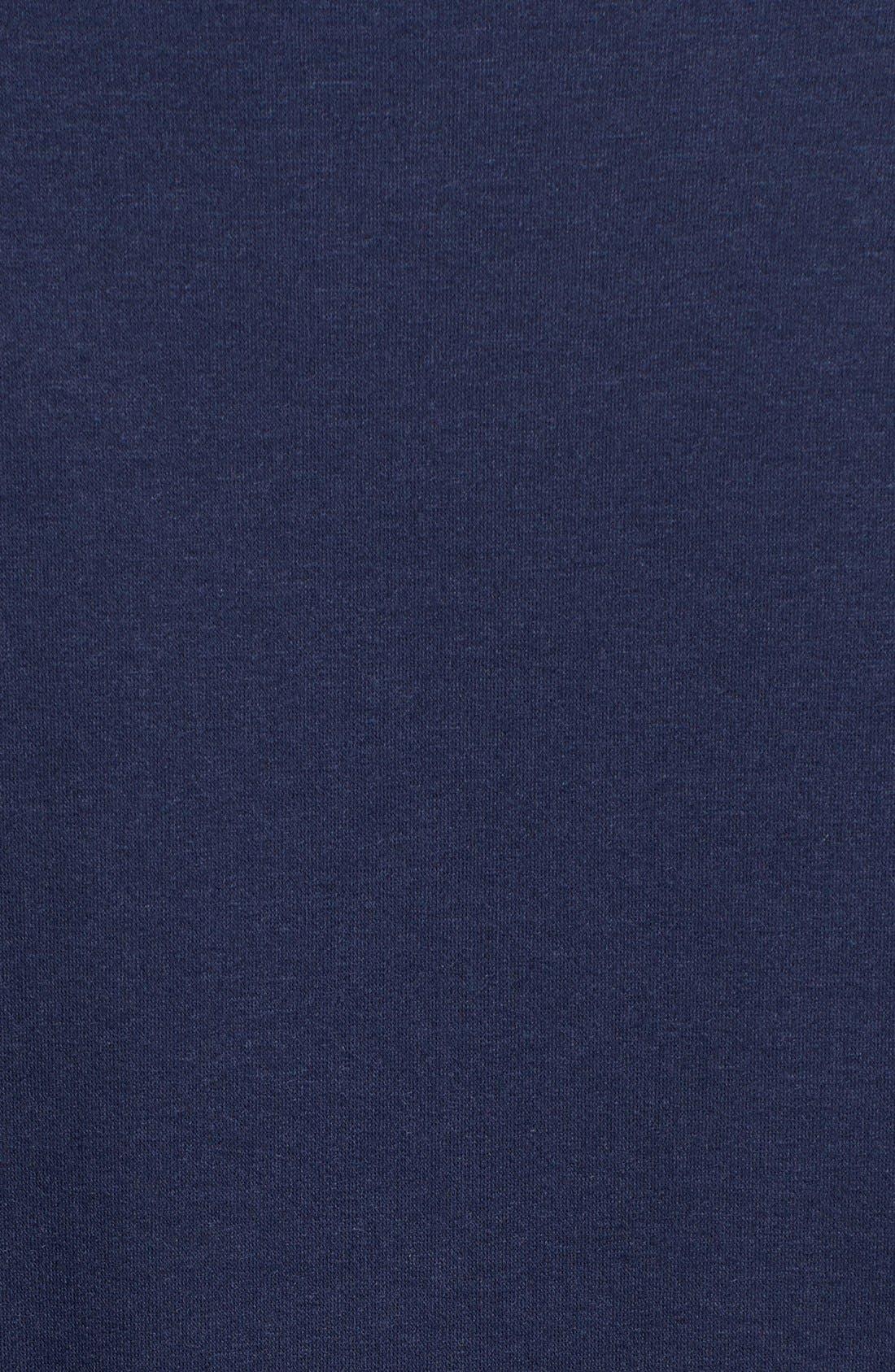 ,                             One-Button Fleece Wrap Cardigan,                             Alternate thumbnail 130, color,                             421