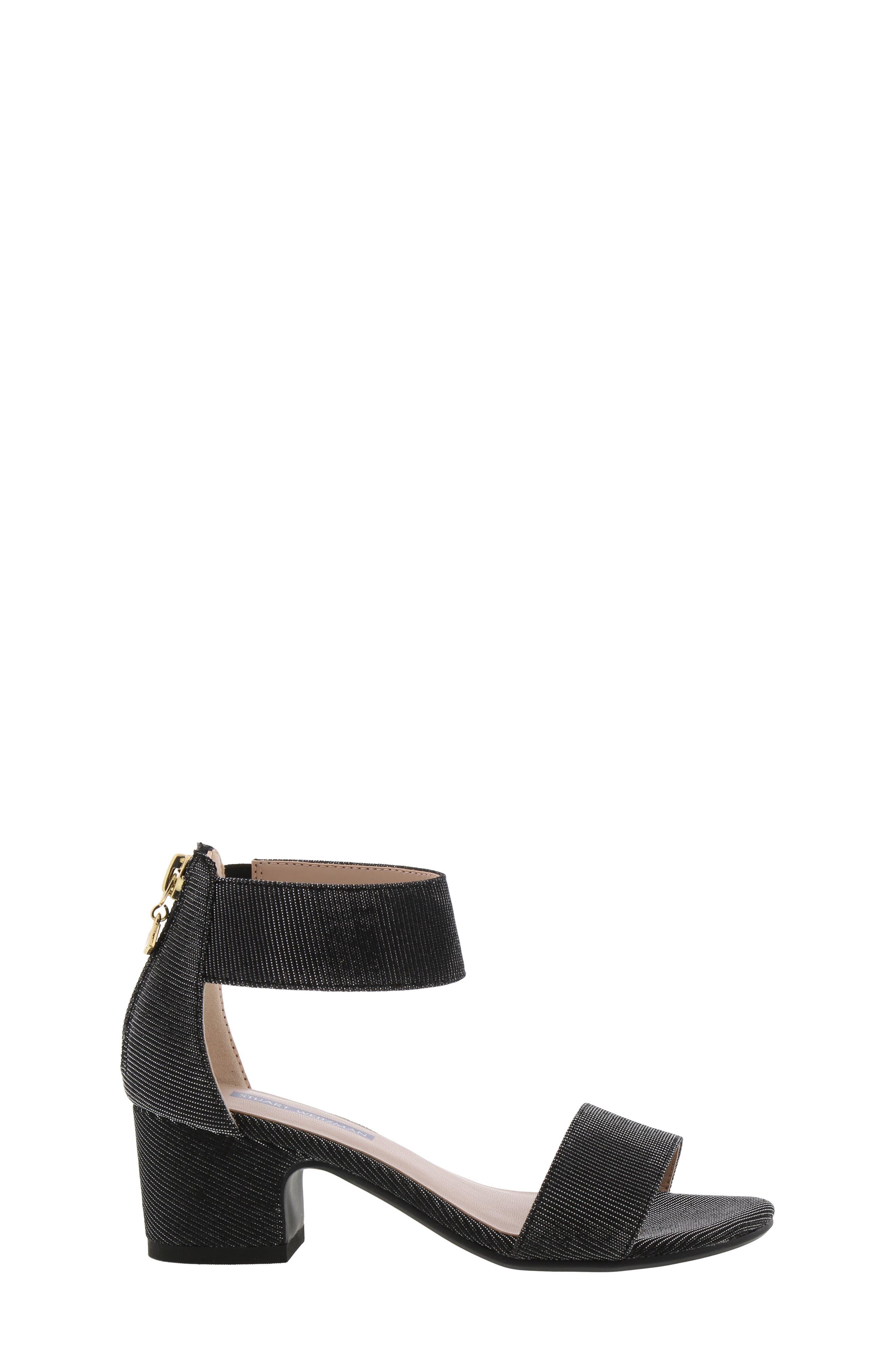 ,                             Rosalyn Alexa Sparkle Sandal,                             Alternate thumbnail 3, color,                             BLACK