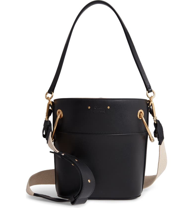 2196895283 Roy Small Leather Bucket Bag