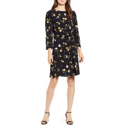 Chelsea28 Twist Detail Dress, Black