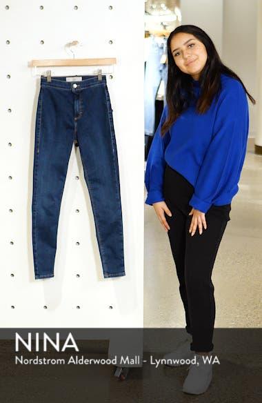 Joni High Waist Crop Skinny Jeans, sales video thumbnail