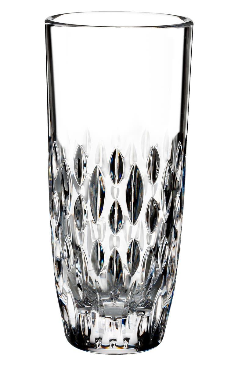 WATERFORD Enis Lead Crystal Vase, Main, color, CRYSTAL
