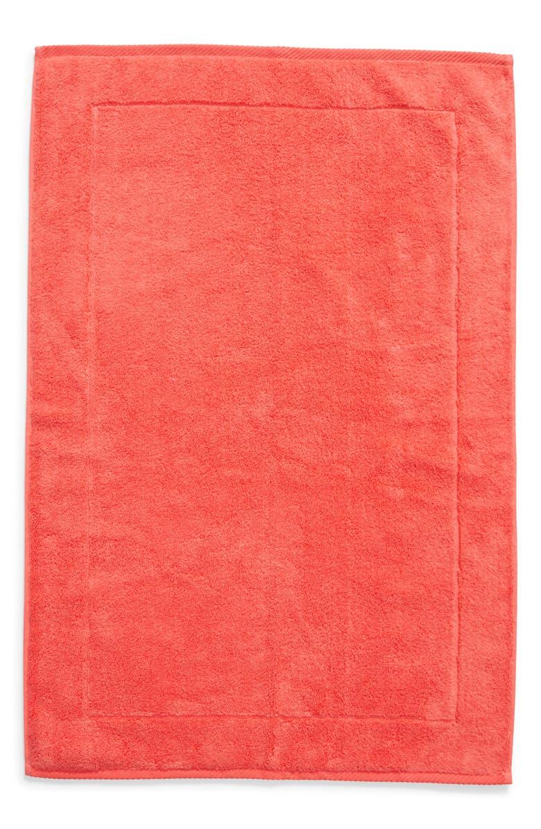 MATOUK Milagro Bath Mat, Main, color, HIBISCUS