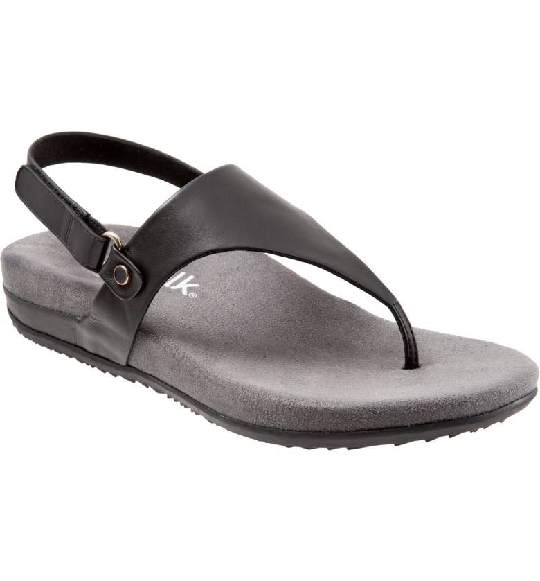 SOFTWALK<SUP>®</SUP> Bolinas V-Strap Sandal, Main, color, 001
