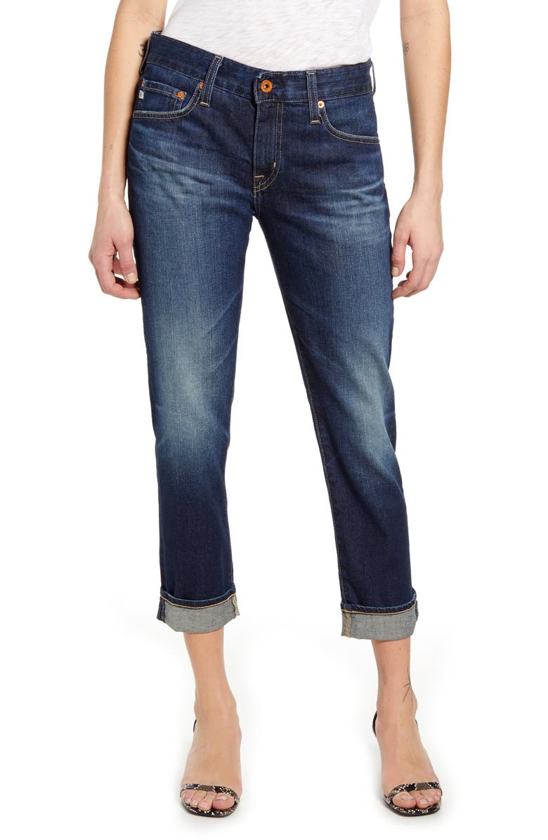 AG Ex-Boyfriend Relaxed Slim Jeans, Main, color, 7 YEARS EARNEST