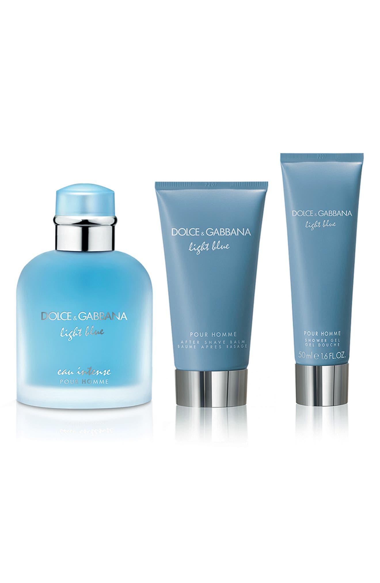 Dolce & gabbana Light Blue Intense Pour Homme Set ($172 Value)