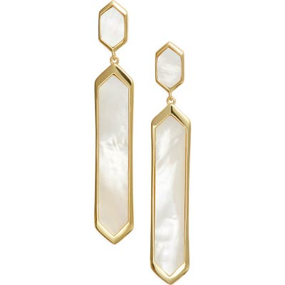 Argento Vivo Mother-Of-Pearl & Sterling Silver Drop Earrings