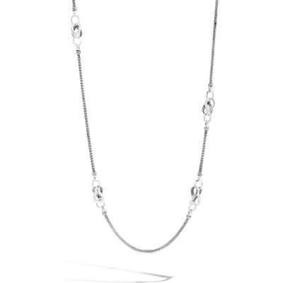 John Hardy Asli Classic Chain Link Mini Chain Sautoir Necklace