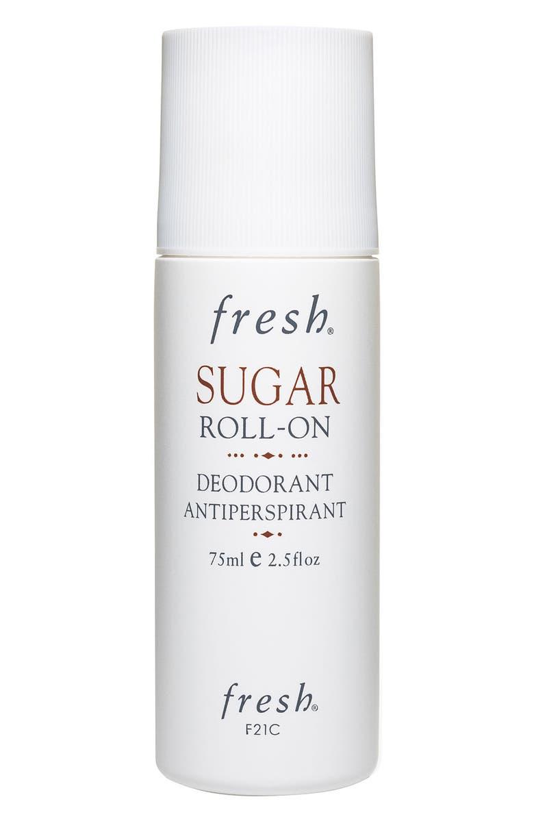 FRESH<SUP>®</SUP> Sugar Roll-On Deodorant Antiperspirant, Main, color, NO COLOR