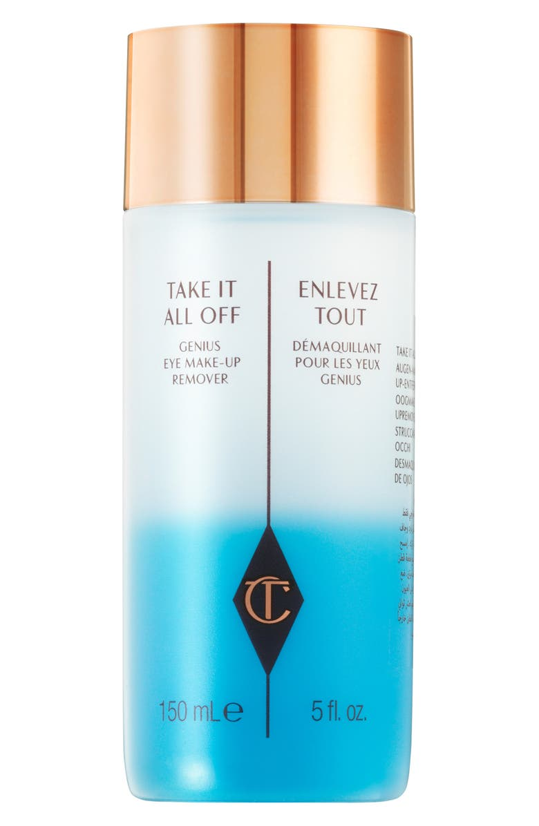 CHARLOTTE TILBURY Take It All Off Genius Eye Make-Up Remover, Main, color, NO COLOR