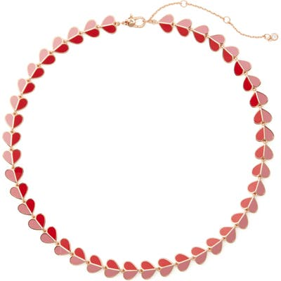 Kate Spade New York Heritage Spade Heart Collar Necklace