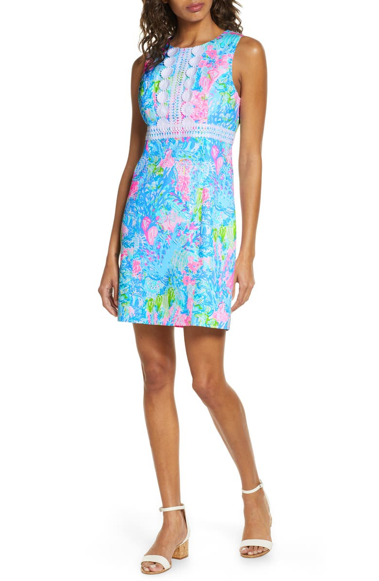 LILLY PULITZER<SUP>®</SUP> Railee Sheath Dress, Main, color, 440