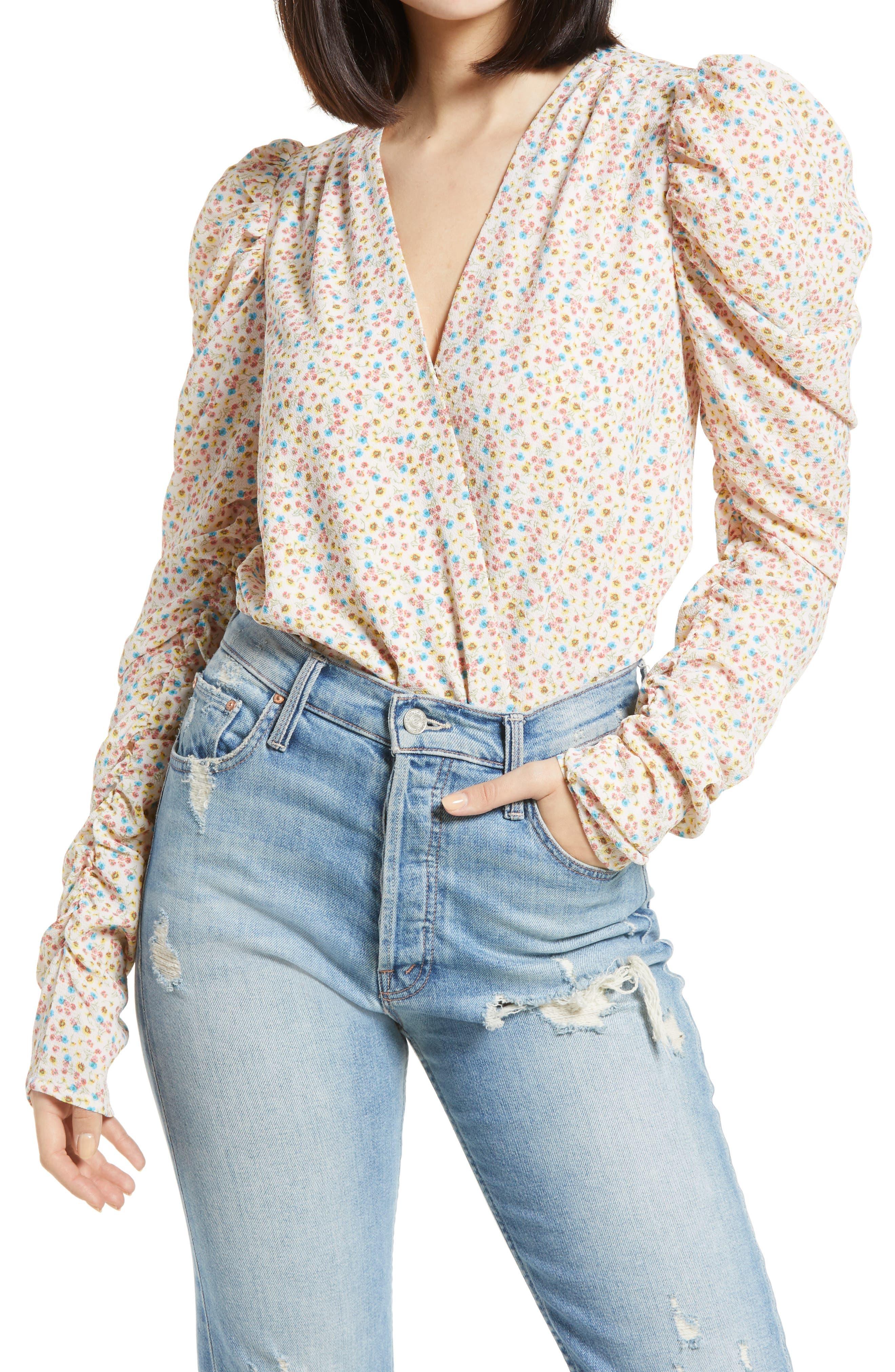 Danna Puff Sleeve Bodysuit
