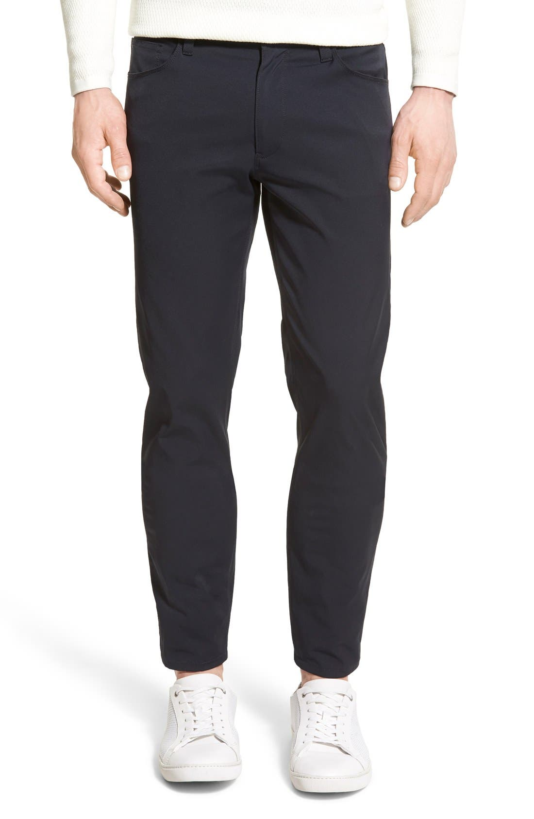 Image of Theory Zaine Neoteric Slim Fit Pants