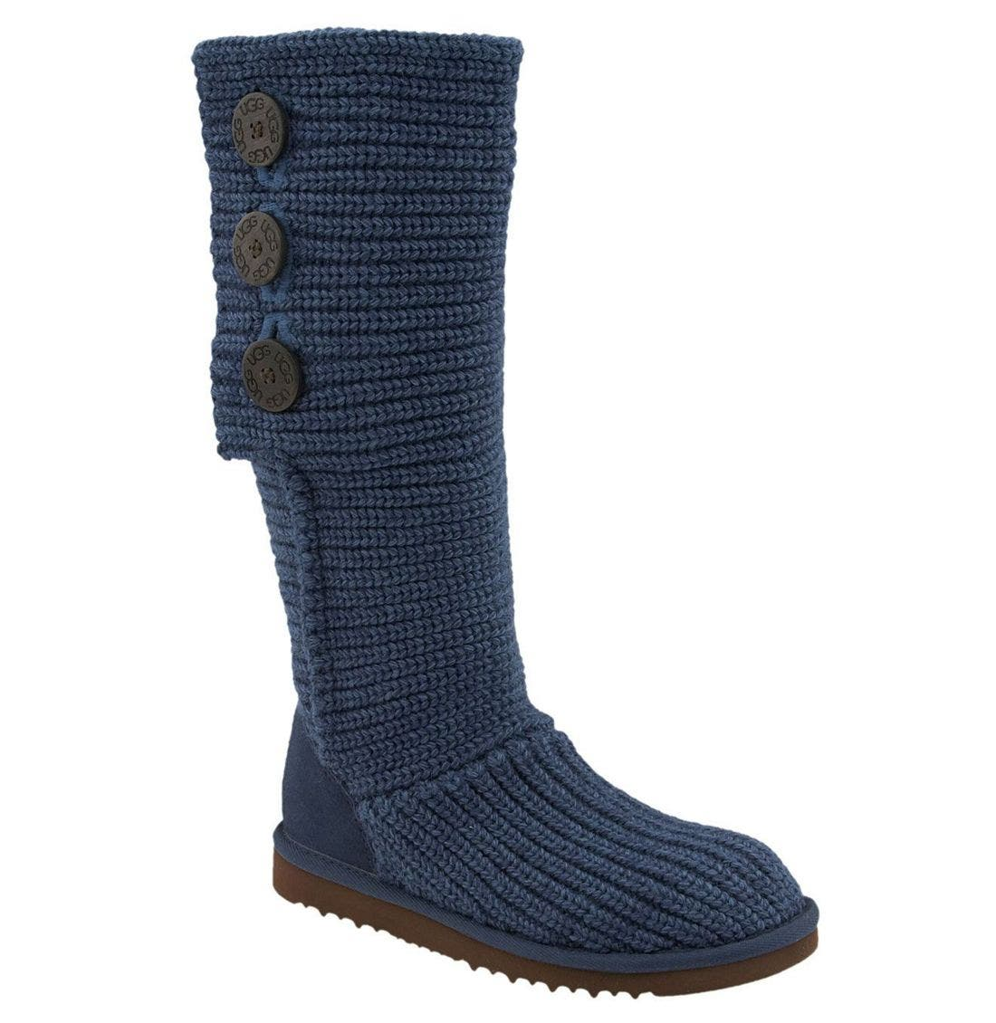 ,                             'Cardy' Classic Knit Boot,                             Alternate thumbnail 33, color,                             401