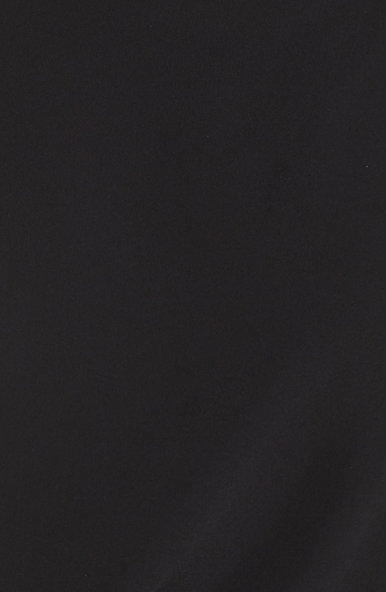 ,                             Cap Sleeve Wide Leg Jumpsuit,                             Alternate thumbnail 6, color,                             BLACK