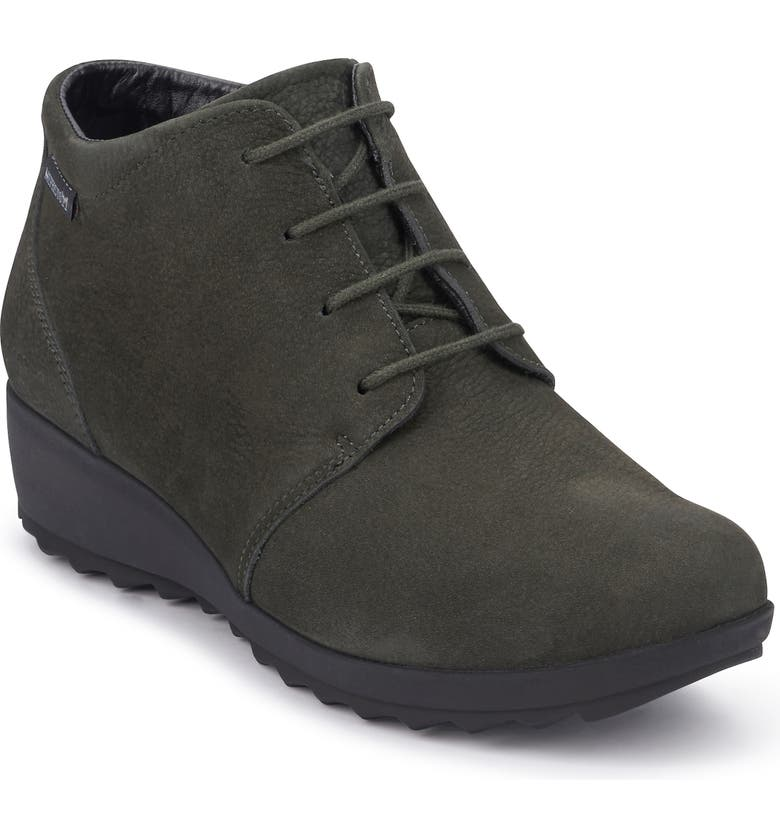 MEPHISTO Athina Bootie, Main, color, GRAPHITE LEATHER