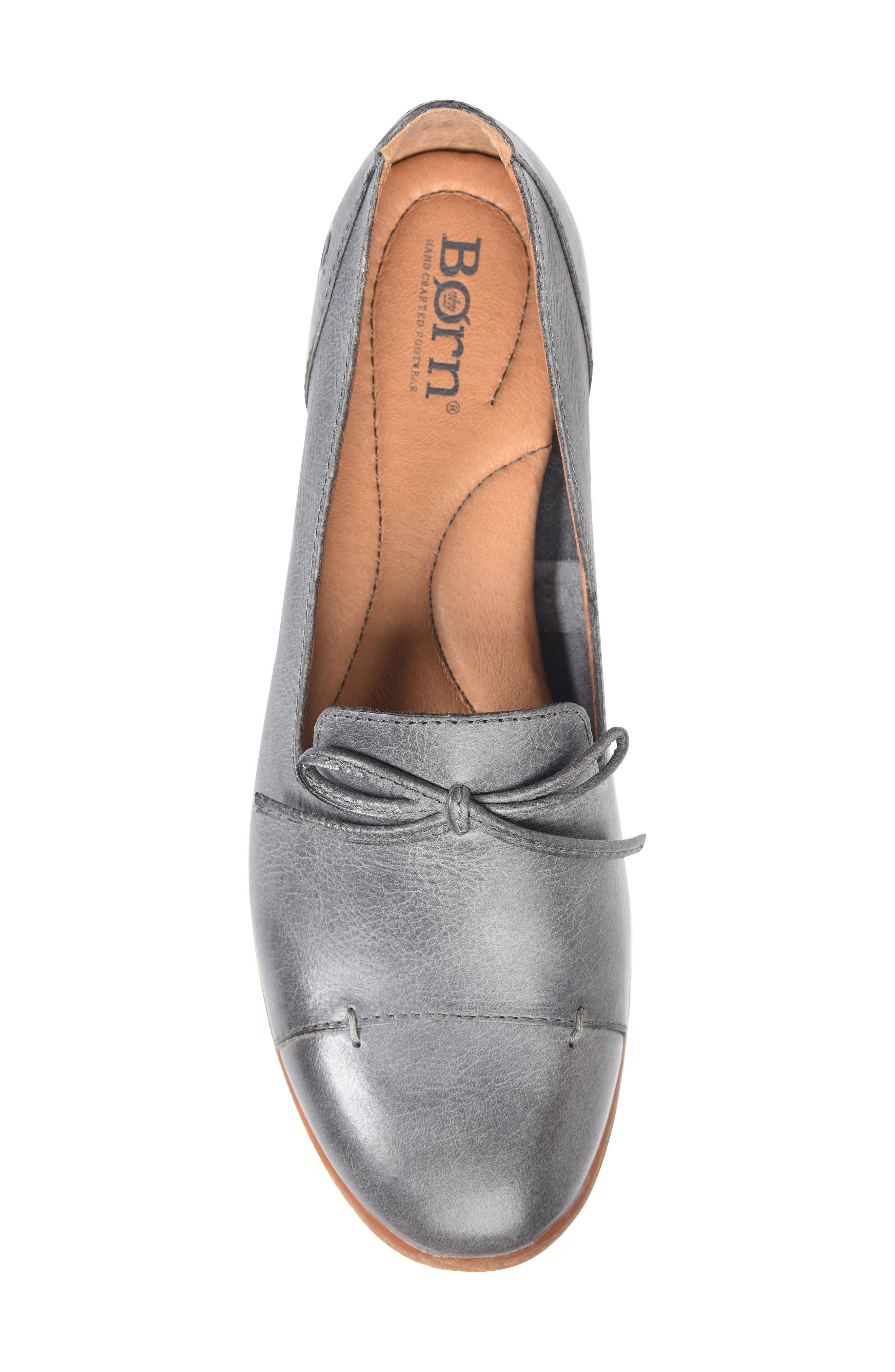 ,                             Gallatin Loafer,                             Alternate thumbnail 5, color,                             GREY LEATHER