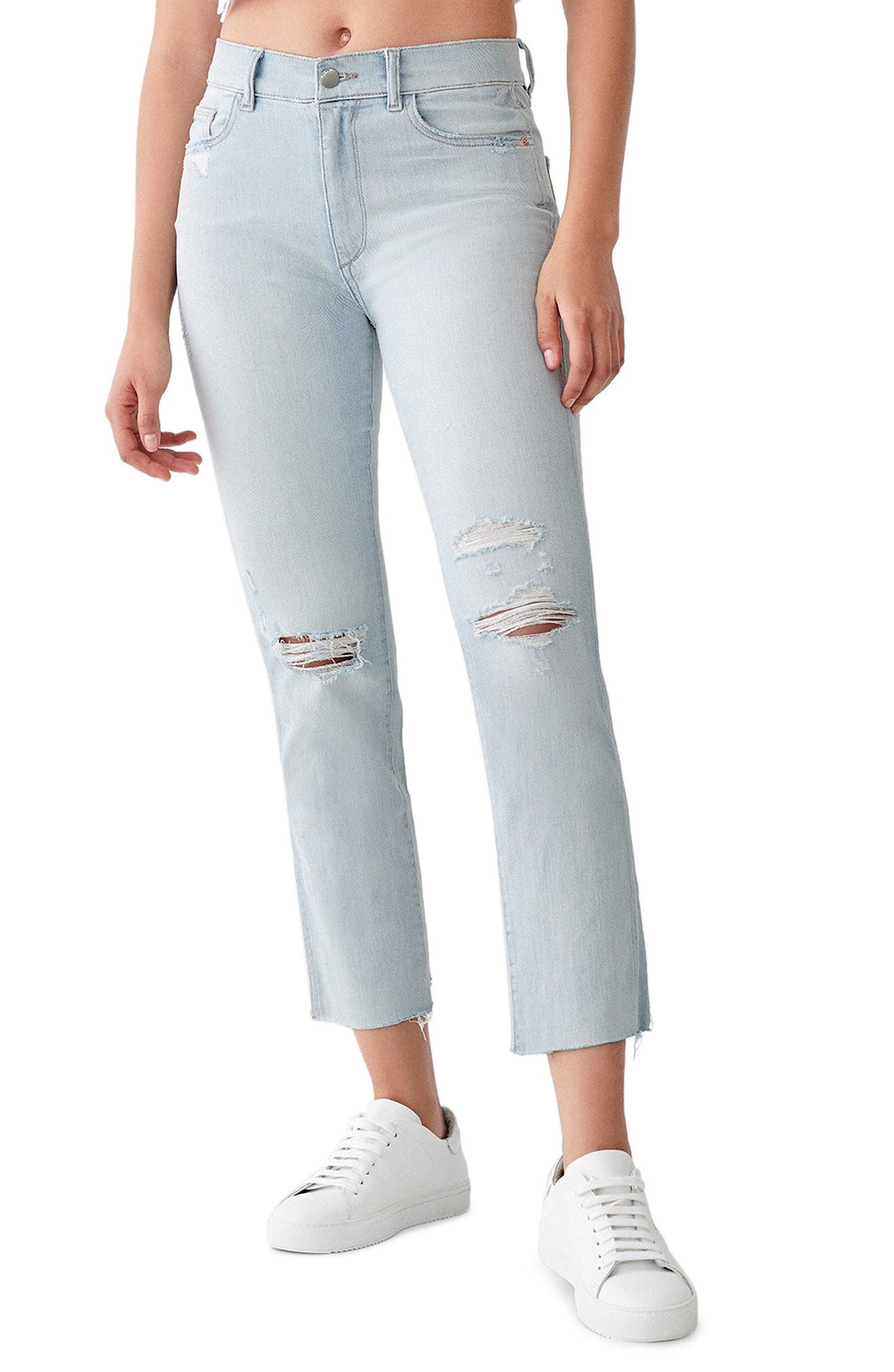 1961 Mara Instasculpt High Waist Ankle Straight Leg Jeans