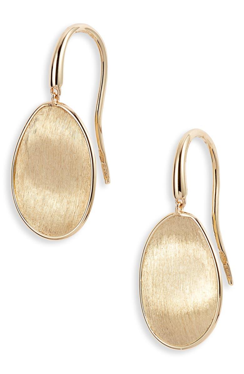 MARCO BICEGO Lunaria Drop Earrings, Main, color, YELLOW GOLD